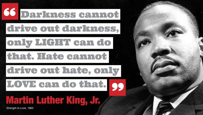 """Quote/""""...Only Love Can Do That/""""PosterInspiration Martin Luther King Jr"""