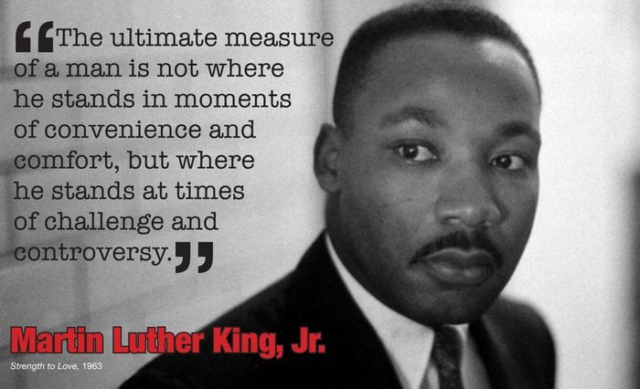 Martin Luther King Jr Quotes About Character